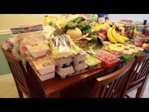 $220 Aldi and Wegmans Grocery Haul for Family of 5