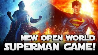 New Open World Superman Game From Batman Arkham Devs! Exciting Leaks and Rumor!