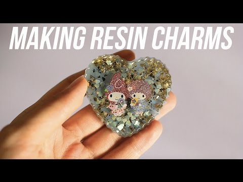 How to Make Resin Charms!