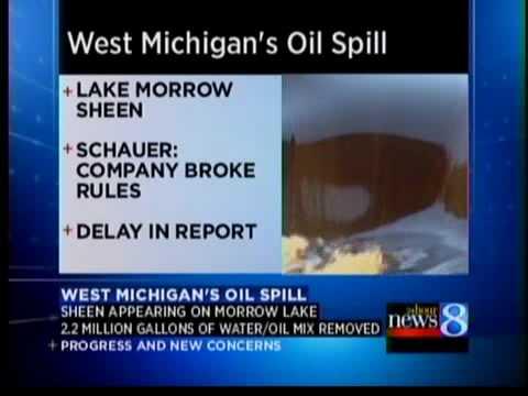 Schauer: Enbridge violated spill regs