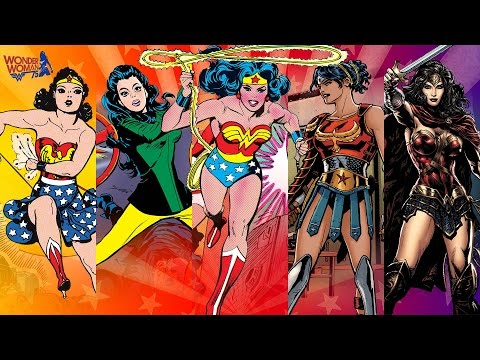 Wonder Woman from 1941-2017
