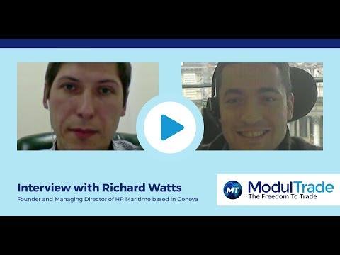 Interview with ModulTrade advisor, Richard Watts.