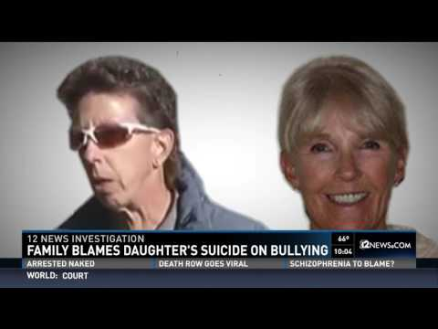 Family blames daughter's suicide on bullying