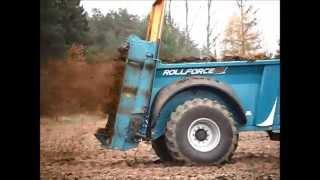 Prezentacja rozrzutnika obornika Rolland ROLLFORCE 5013