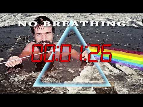 Wim Hof - Pink Floyd - Breath in the Air Daily, Timed Breathing and Breath Holding Exercise