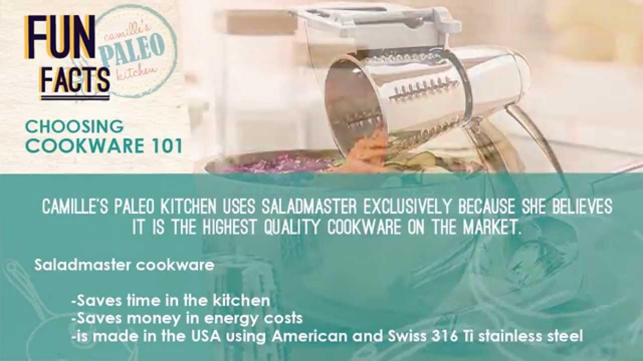 Camille\'s Paleo Kitchen   Saladmaster Cookware - YouTube