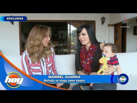 Maribel Guardia, disfruta ser abuela   Desayunando y chismeando  Hoy