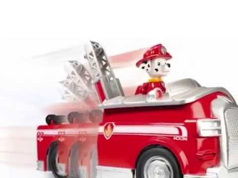 nickelodeon paw patrol la pat 39 patrouille marshall camion. Black Bedroom Furniture Sets. Home Design Ideas
