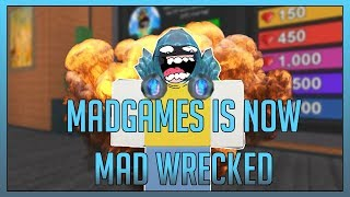 ROBLOX Exploit Trolling - Mad Games Getting Mad Wrecked