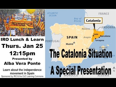 The Catalonia Situation-A Special Presentation