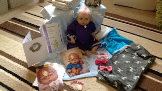 A reborn box opening of mini Ofelia ........ by the twisted beanstalk nursery