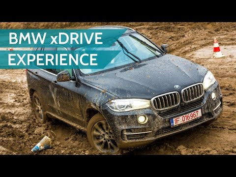 BMW xDrive Experience: playing in the mud with the X1, X3, X4, X5 and X6
