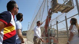 Vox propone sustituir la valla de Melilla por un muro de hormigón
