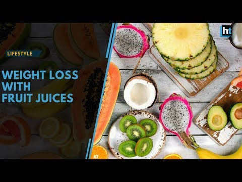 Drink fruit juices for weight loss, how to do it without harming your body