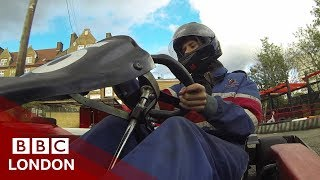 Go-karting away from gangs - BBC London