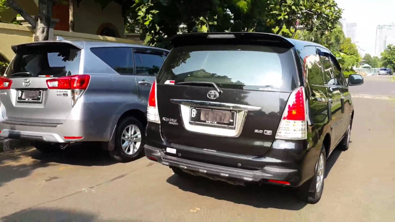 all new kijang innova vs crv harga 2.4 q a/t diesel venturer toyota g 2016 2009 mt 2 0 petrol youtube