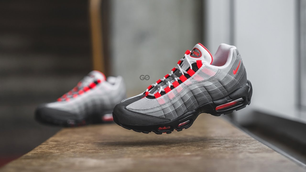 973fcf81031db1 ... cheap nike air max 95 og solar red review on feet b51b4 ae44b