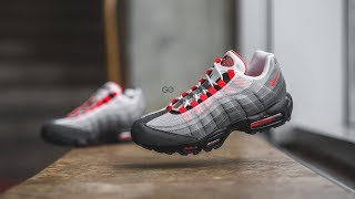 """Nike Air Max 95 OG """"Solar Red"""": Review & On-Feet"""