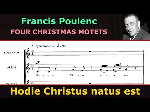 Francis Poulenc - Hodie Christus natus est (The Philadelphia Singers)