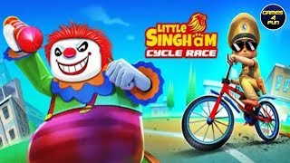 Little Singham Cycle Race - New Game