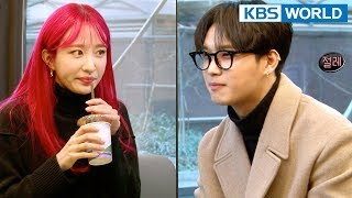 Hani Of EX D And Hyunsik Are Friends Hyena On The Keyboard 2018.04.18