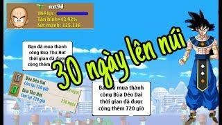 Ngọc Rồng Online - Nạp 200K Dzo Mua Bùa 1 Tháng Cho nxt9d Lên Đường Úp Sét Hiếm 30 Ngày khổ Cực