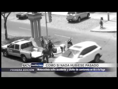 Víctor Larco: Cámaras captan a motociclista que sufre accidente