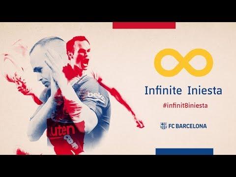 ANDRÉS INIESTA   Thanks a million! #infinit8iniesta