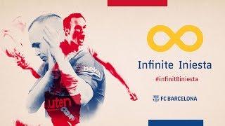 ANDRÉS INIESTA | Thanks a million! #infinit8iniesta thumbnail