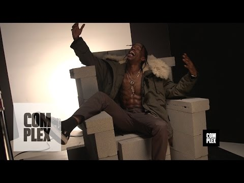 Travi$ Scott Cover Shoot | Behind The Scenes