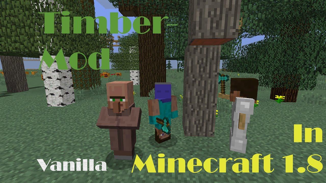 Скачать мод timber