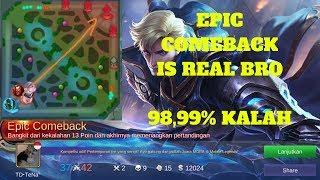 EPIC COMEBACK PALING MUSTAHIL TERJADI,98,99% KALAH : Mobile Legends:Bang-Bang