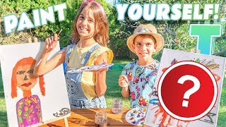 PAINT YOURSELF CHALLENGE ¡Nos PINTAMOS a NOSOTROS!
