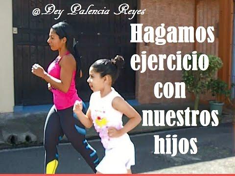 Entrenamiento Para niños- Ejercicios para niños 1 - Dey Palencia Reyes