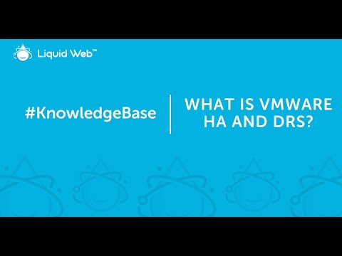 What is VMware HA and DRS?