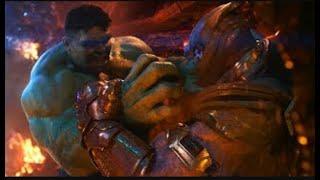 Yenilmezler Sonsuzluk savaşı  Hulk vs Thanos dövüşü  Bizde Hulk Var  HD