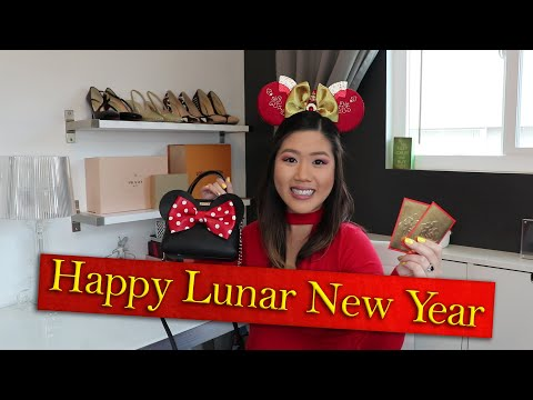 LUNAR NEW YEAR GIFT GUIDE & Food Vlog At Disneyland California Adventure | 2020 Year Of The Rat