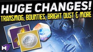 REWARD & ECONOMY CHANGES, TRANSMOG DETAILS, Beyond Light DLC NEWS! | Destiny 2 | This Week at Bungie