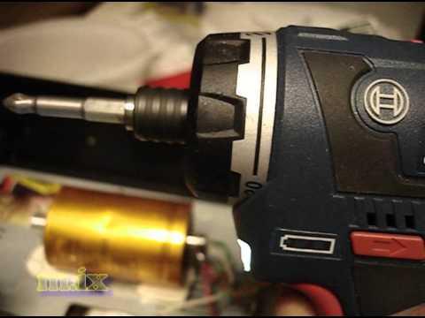 Видео обзор: Дрель- шуруповерт аккум BOSCH GSR 12V-20 HX Solo без АКБ и ЗУ