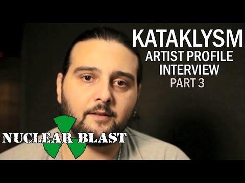 KATAKLYSM - Artist Profile Interview W/ Maurizio Iacono (PART 3)