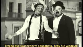 Sketch Cantinflas y Manuel Medel 1937 subtítulos en polaco
