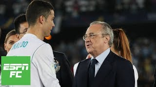 cristiano ronaldo leaves real madrid he felt he was not being treated like a legend espn fc