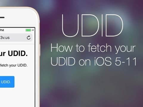 HOW TO GET UDID OF YOUR iOS DEVICES (iPhone/iPad)