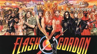 Painting the film Flash Gordon