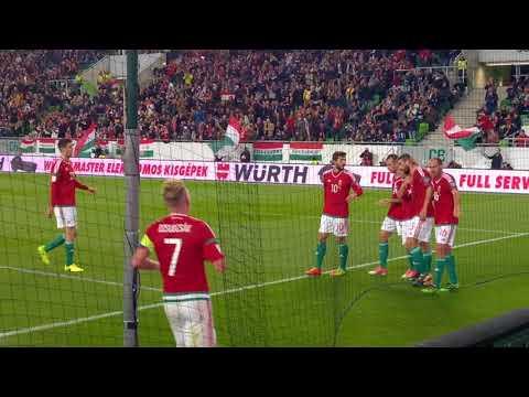 Böde Dániel; Magyarország - Feröer Szigetek; 1-0; gól; 2017.10.10.