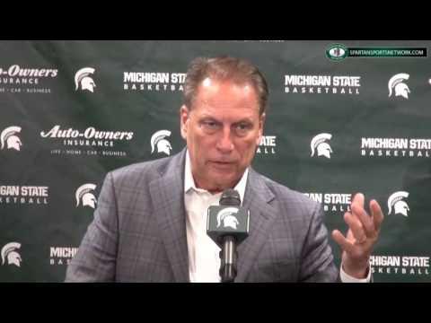 Michigan State Basketball Media Day 2016: Tom Izzo