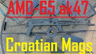 AMD-65 and Croatian Mags AK47