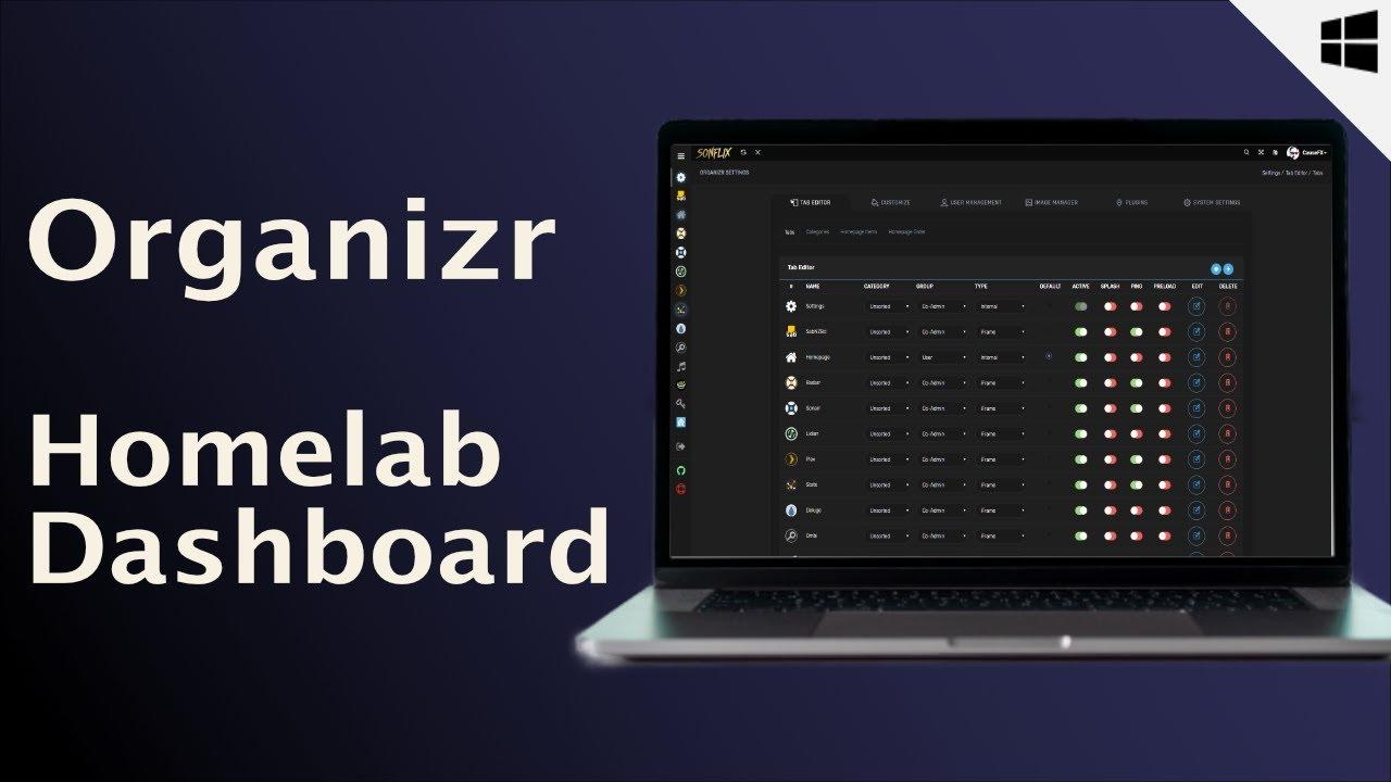 Organizr - Homelab Dashboards - Teil 2