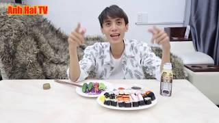 Anh Hai Tv: Ăn Sushi Nhật Bản 99K