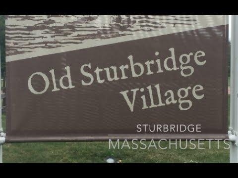 Old Sturbridge Village in Sturbridge Massachusetts
